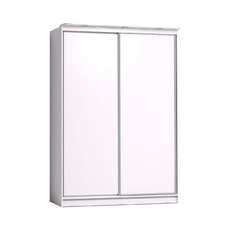Шкаф-купе с зеркалом Домашний 1600 белый